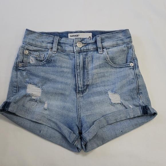 Garage Retro High Waist Shorts